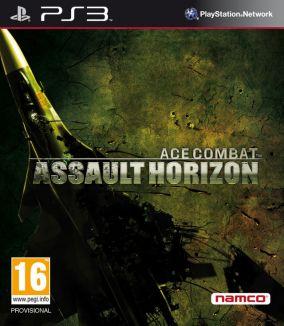 Copertina del gioco Ace Combat: Assault Horizon per PlayStation 3