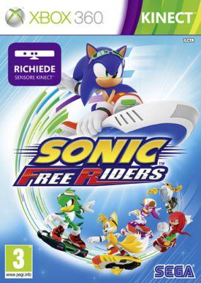 Copertina del gioco Sonic Free Riders per Xbox 360