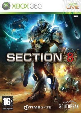 Copertina del gioco Section 8 per Xbox 360