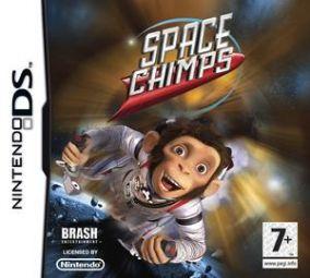 Immagine della copertina del gioco Space Chimps: Scimmie nello Spazio per Nintendo DS