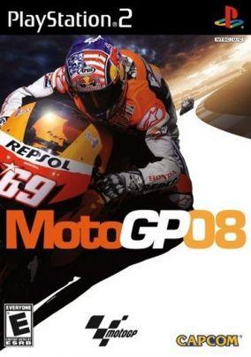 Immagine della copertina del gioco MotoGP 08 per PlayStation 2
