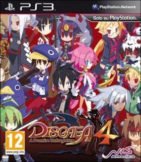 Copertina del gioco Disgaea 4: A Promise Unforgotten per PlayStation 3