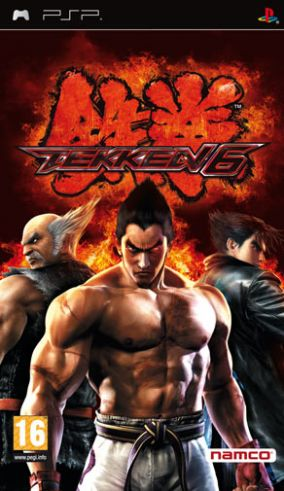 Immagine della copertina del gioco Tekken 6 per PlayStation PSP