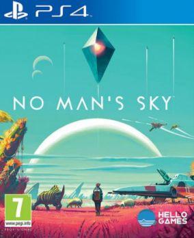 Immagine della copertina del gioco No Man's Sky per PlayStation 4