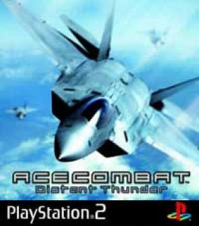 Copertina del gioco Ace Combat: Distant Thunder per PlayStation 2