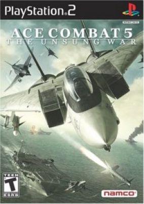 Copertina del gioco Ace Combat 5 per PlayStation 2