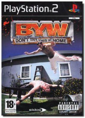 Immagine della copertina del gioco Backyard Wrestling: Don't Try This at Home  per PlayStation 2