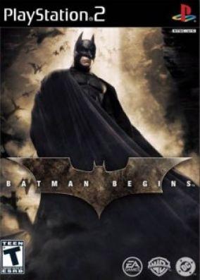 Copertina del gioco Batman Begins per PlayStation 2