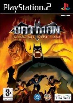 Immagine della copertina del gioco Batman Rise of Sin Tzu per PlayStation 2