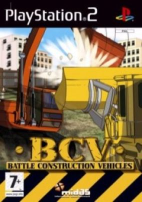 Copertina del gioco Battle Construction Vehicles per PlayStation 2