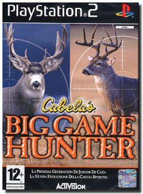 Copertina del gioco Big game hunter per PlayStation 2