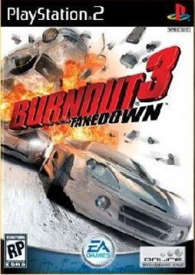 Immagine della copertina del gioco Burnout 3 Takedown per PlayStation 2