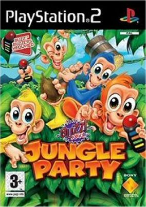 Immagine della copertina del gioco Buzz! Junior Jungle Party per PlayStation 2