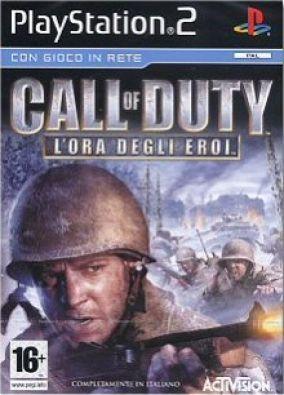 Immagine della copertina del gioco Call of Duty - L'ora degli eroi per Playstation 2