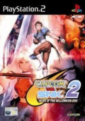 Copertina del gioco Capcom Vs SNK 2: The Mark of the Millenium 2001 per PlayStation 2