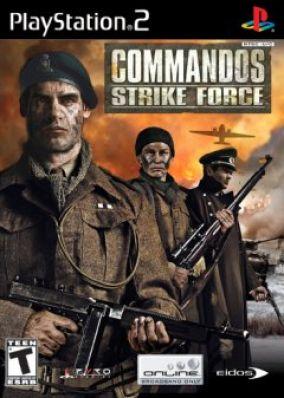 Copertina del gioco Commandos Strike Force per PlayStation 2