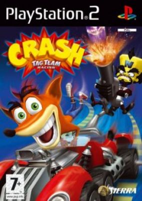 Immagine della copertina del gioco Crash Tag team racing per PlayStation 2