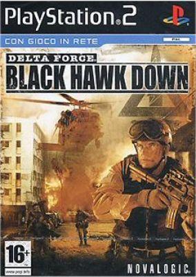 Copertina del gioco Delta Force: Black Hawk Down per PlayStation 2