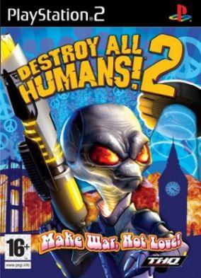 Immagine della copertina del gioco Destroy All Humans! 2 per PlayStation 2