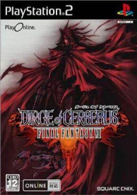Copertina del gioco Dirge of Cerberus: Final Fantasy VII per PlayStation 2