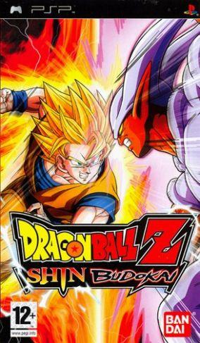 Immagine della copertina del gioco Dragon Ball Z Shin Budokai per PlayStation PSP