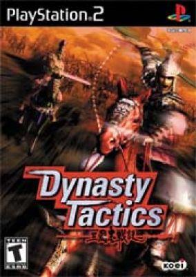 Immagine della copertina del gioco Dynasty tactics per PlayStation 2