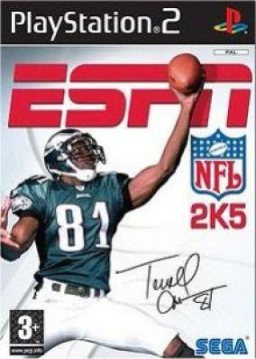 Copertina del gioco ESPN NFL 2k5 per PlayStation 2