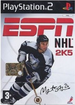 Copertina del gioco ESPN NHL 2k5 per PlayStation 2