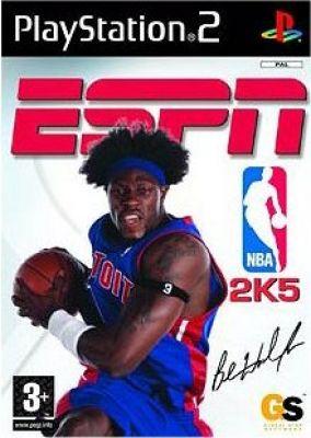 Copertina del gioco ESPN NBA 2K5 per PlayStation 2