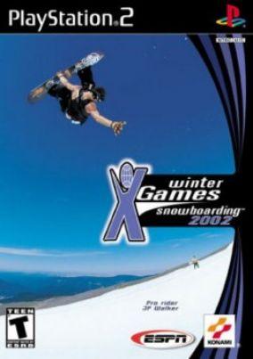 Immagine della copertina del gioco ESPN Winter X Games Snowboarding per PlayStation 2