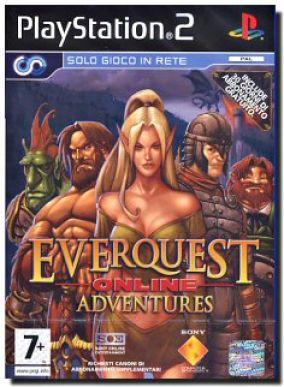 Copertina del gioco EverQuest Online Adventures per PlayStation 2