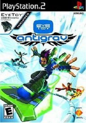 Copertina del gioco Eye Toy: Antigrav per PlayStation 2