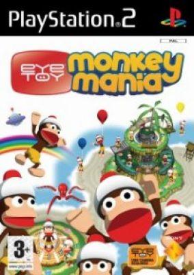 Copertina del gioco Eye Toy: Monkey Mania per PlayStation 2