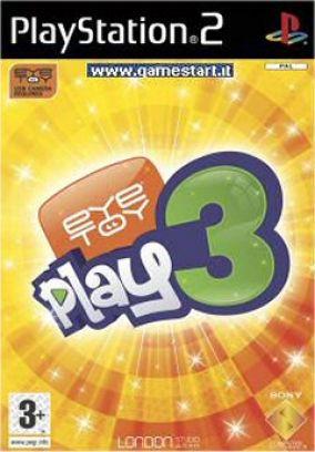 Copertina del gioco Eye Toy: Play 3 per PlayStation 2
