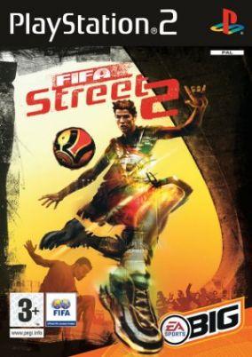 Copertina del gioco FIFA Street 2 per PlayStation 2