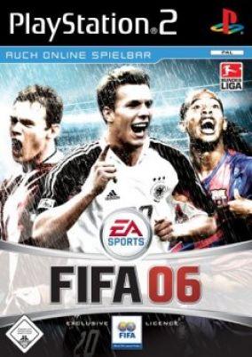 Copertina del gioco Fifa 06 per PlayStation 2