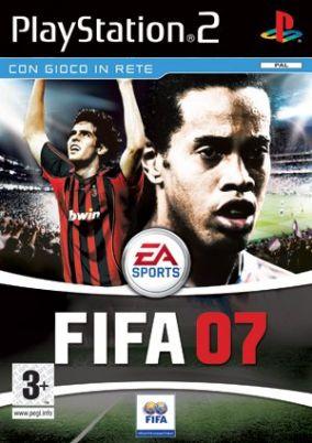 Copertina del gioco Fifa 07 per PlayStation 2