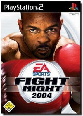 Immagine della copertina del gioco Fight Night 2004 per PlayStation 2