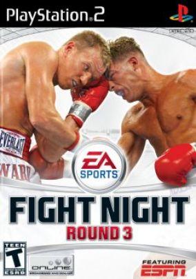 Immagine della copertina del gioco Fight Night Round 3 per PlayStation 2
