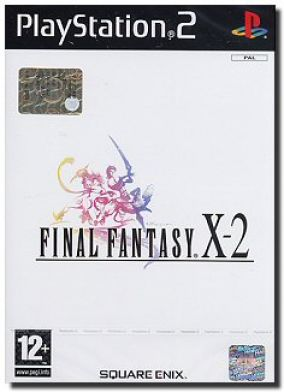Copertina del gioco Final Fantasy X-2 per PlayStation 2