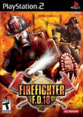 Immagine della copertina del gioco Firefighter F.D. 18 per PlayStation 2