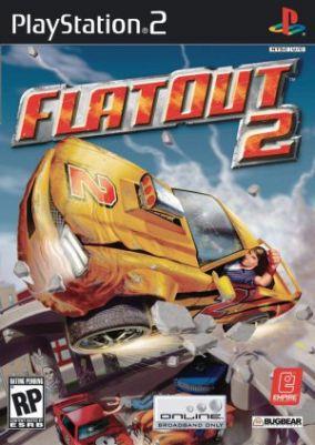 Copertina del gioco Flat Out 2 per PlayStation 2