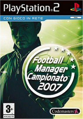 Copertina del gioco Football Manager Campionato 2007 per PlayStation 2