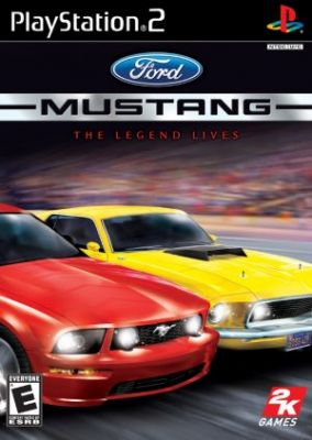 Copertina del gioco Ford Mustang per PlayStation 2