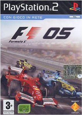 Immagine della copertina del gioco Formula 1 2005 per PlayStation 2