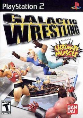 Immagine della copertina del gioco Galactic Wrestling: Featuring Ultimate Muscle per PlayStation 2