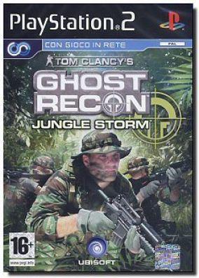 Copertina del gioco Ghost Recon Jungle Storm per PlayStation 2