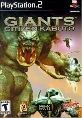 Copertina del gioco Giants: Citizen Kabuto per PlayStation 2