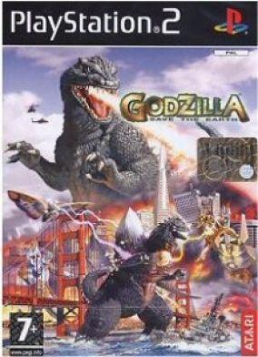 Copertina del gioco Godzilla: Save the Earth per PlayStation 2