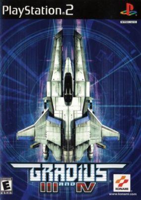 Copertina del gioco Gradius III & IV per PlayStation 2